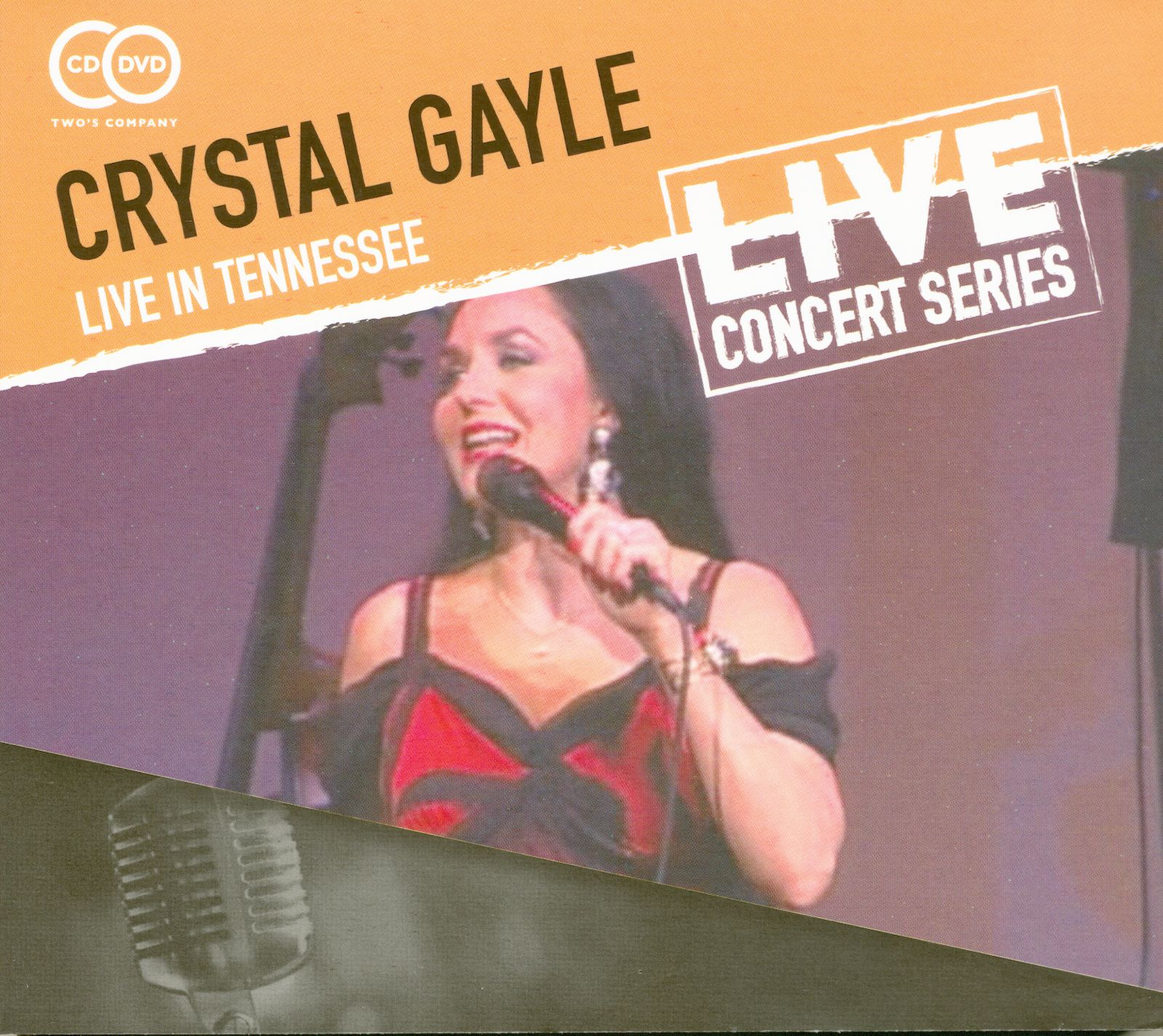 crystal gayle cd live in tennessee 1 cd 1 dvd bear family records rh bear family com
