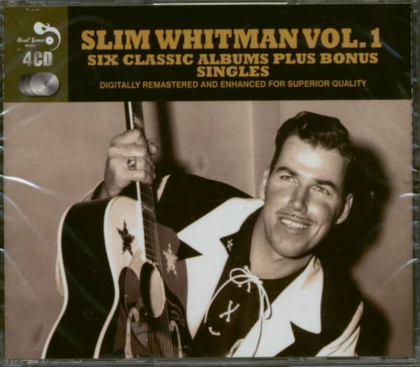 Six Classic Albums Plus Bonus Singles - Slim Whitman Vol.1 (4-CD)