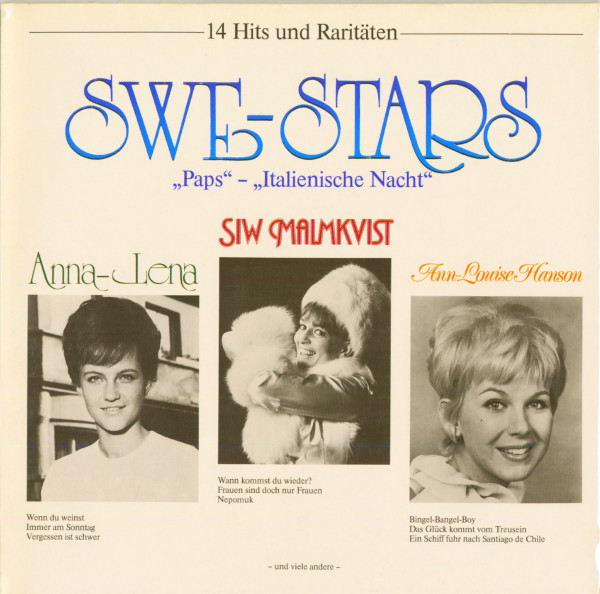 Swe-Stars - 14 Hits und Raritäten (LP)