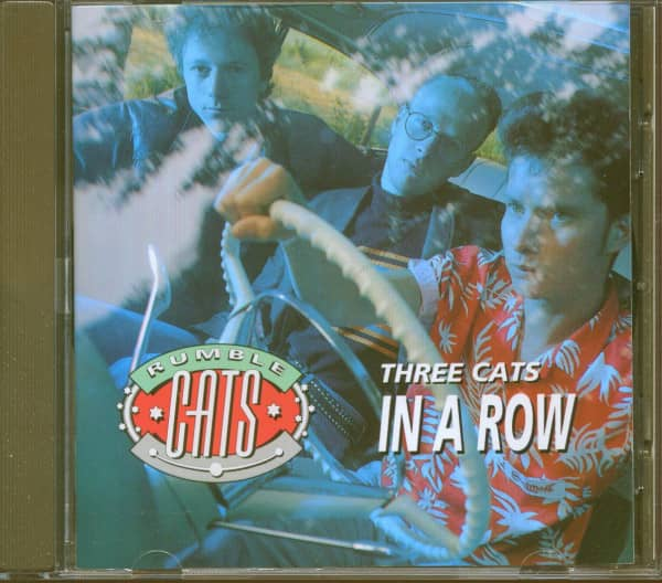 Three Cats In A Row (CD)