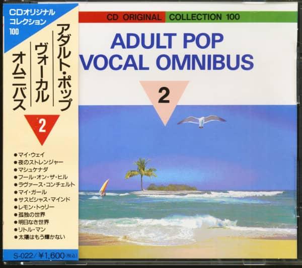 Adult Pop Vocal Omnibus Vol.2 (CD, Japan)