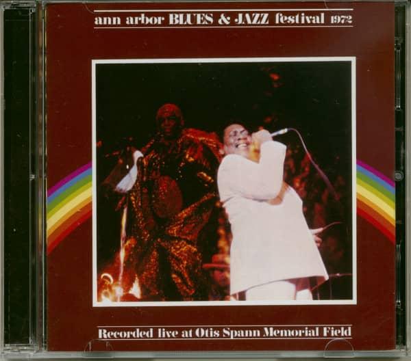 Ann Arbor Blues &ampamp; Jazz Festival 1972 (2-CD)