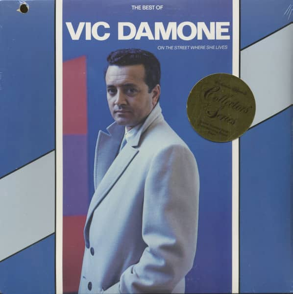 The Best Of Vic Damone - On The Street Where She Lives (LP)