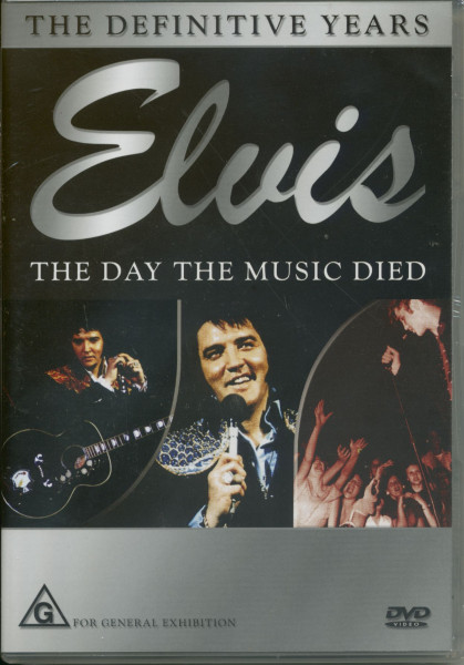 Elvis - The Day The Music Died- Elvis Is Gone & All The King's Disciples- The Fans (DVD)