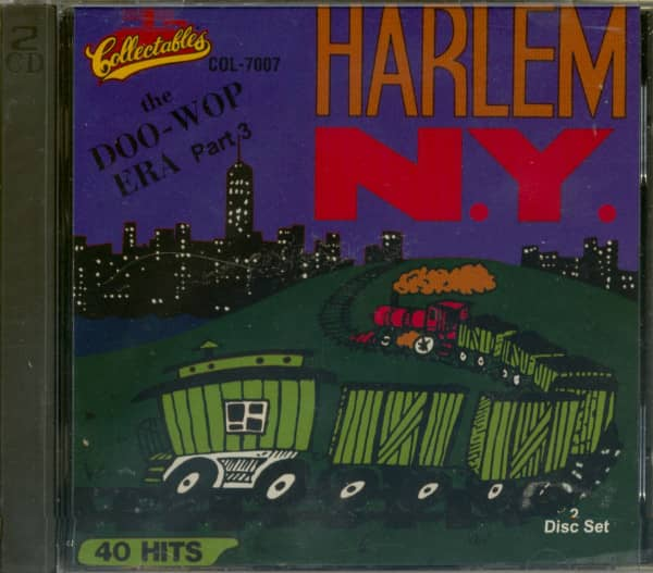 Harlem New York - The Doo-Wop Era Vol.3 (2-CD)