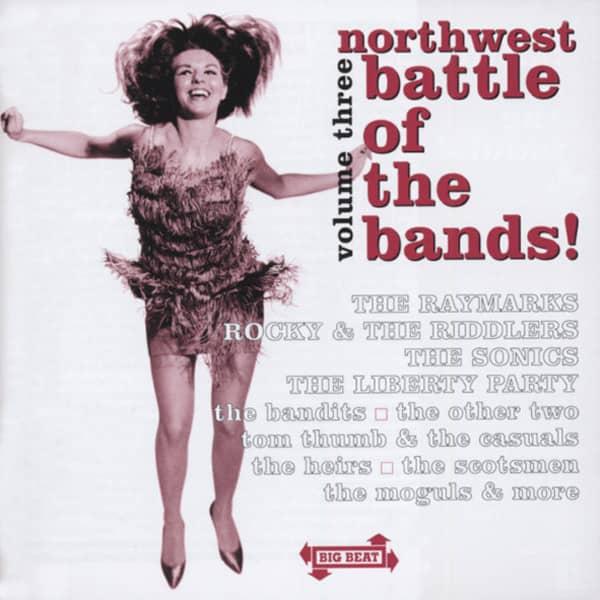 Vol.3, Northwest Battle Of The Bands