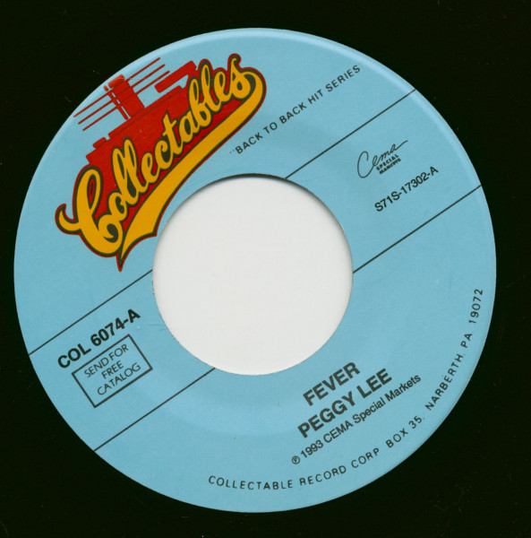Fever - Alright, Okay, You Win (7inch, 45rpm)