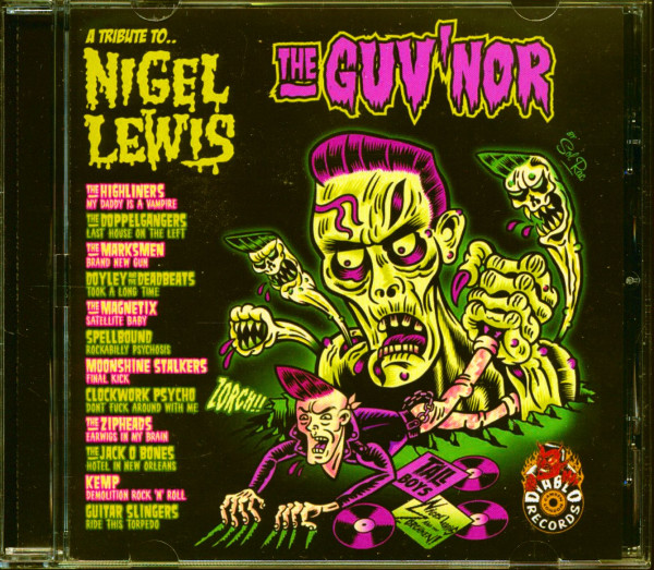 A Tribute To Nigel Lewis - 'The Guv'nor' (CD)