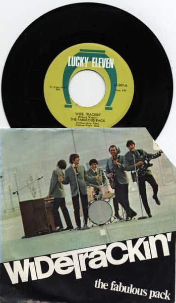 Wide Trackin' b-w Does It Matter To You Girl 45pm, PS RARE*