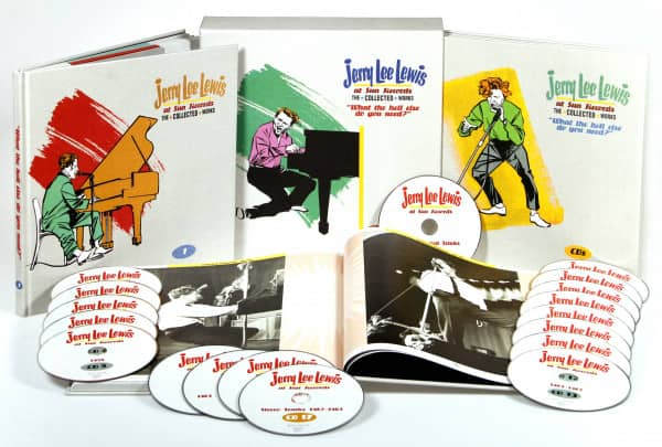 Jerry Lee Lewis At Sun Records The Collected Works (18-CD Deluxe Box Set)