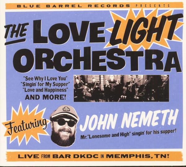 The Love Light Orchestra Featuring John Nemeth (CD)