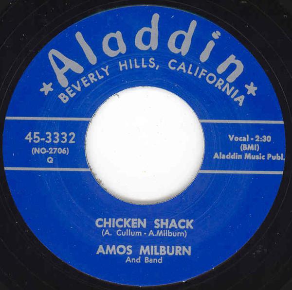 Chicken Shack - One SCotch, One Bourbon.. 7inch, 45rpm