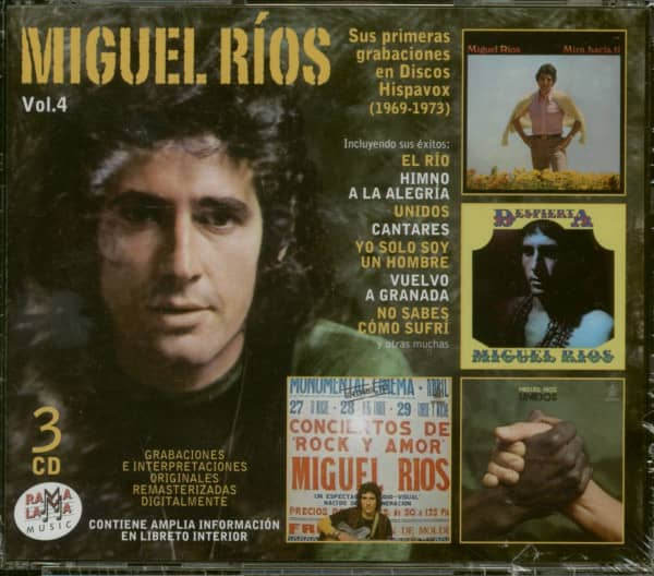 Vol.4 - Sus Primeras Grabaciones En Discos Hispavox 1969-1973 (3-CD)