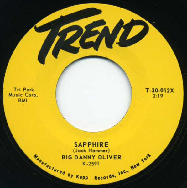 Sapphire - I Wanna Go Steady 7inch, 45rpm