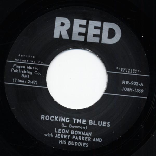 Rockin The Blues b-w Back Widow Spider 7inch, 45rpm
