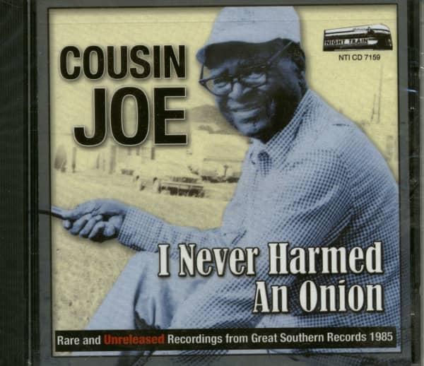 I Never Harmed An Onion (CD)