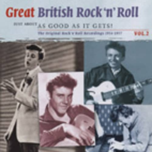 Vol.2, British R&R - As Good As It Gets 2-CD