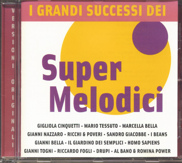 Super Melodici - I Grandi Successi Dei (CD)