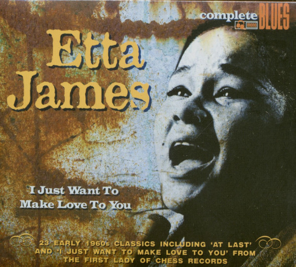 I Just Want to Make Love to You (CD)