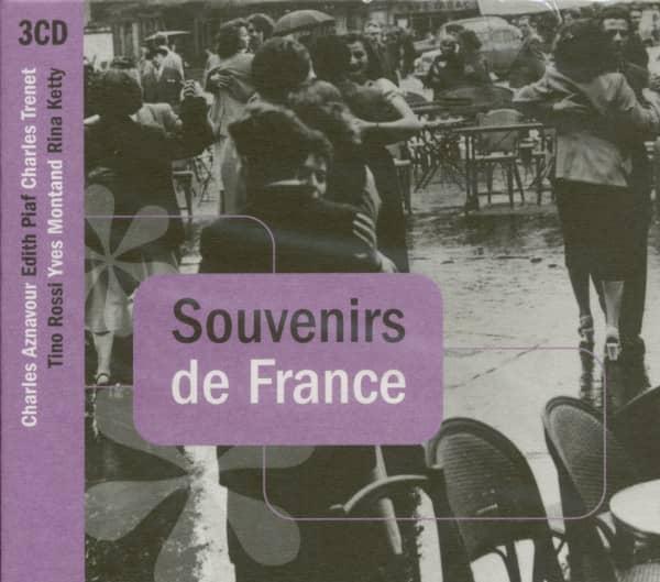 Souvenirs de France 3-CD