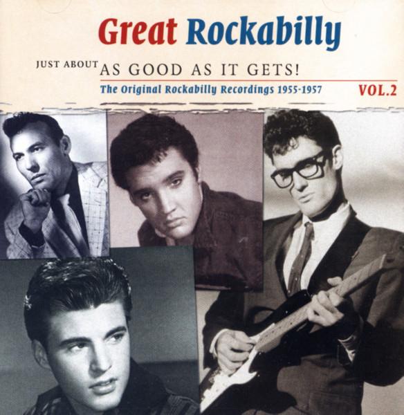 Vol.2, Rockabilly - As Good As It Gets 2-CD