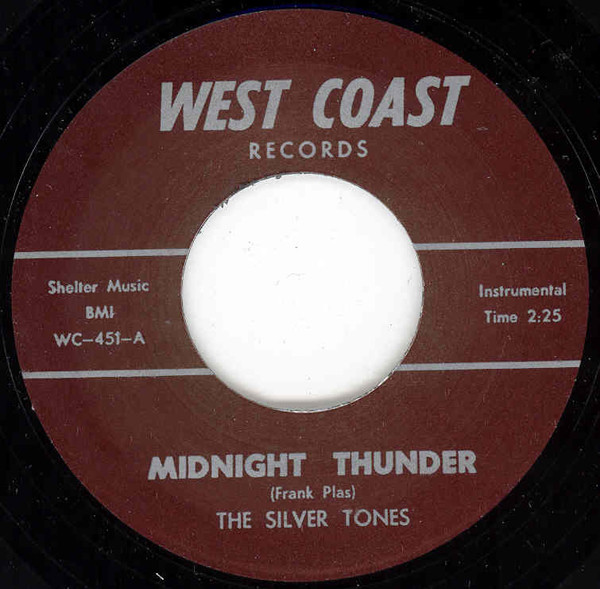 Dimples - Midnight Thunder 7inch, 45rpm