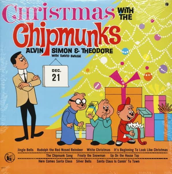 Chipmunks Christmas.The Chipmunks Christmas With The Chipmunks Lp
