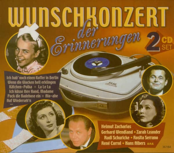 Wunschkonzert der Erinnerungen (2-CD)