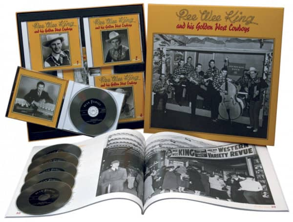& His Golden West Cowboys (6-CD Deluxe Box Set)