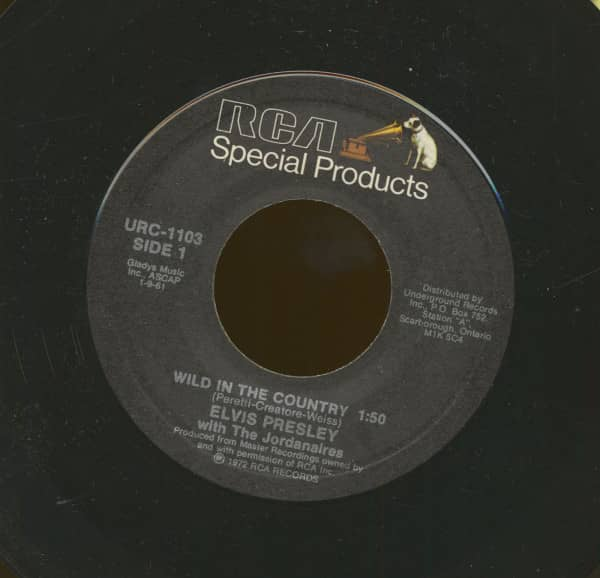 Wild In The Country - I Feel So Bad (7inch, 45rpm)