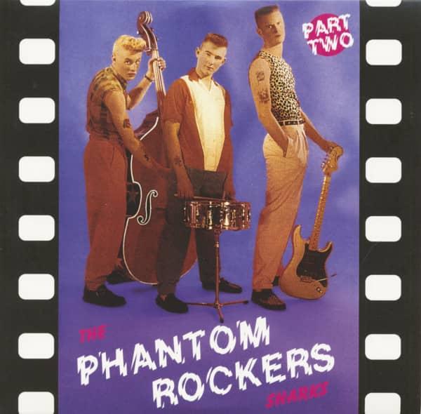 The Phantom Rockers Part Two (LP, 10inch, Colored Vinyl)