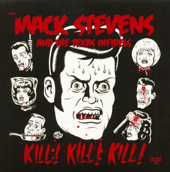 Kill! Kill! Kill! (LP, 180g Red Vinyl)
