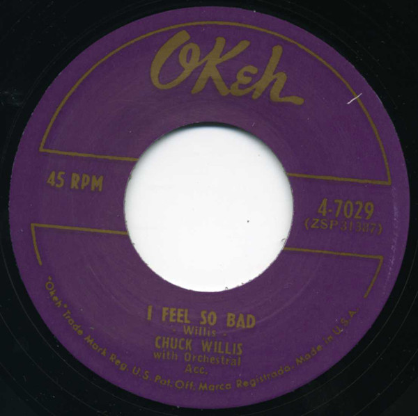 I Feel So Bad - My Baby's Comin' Home 7inch, 45rpm