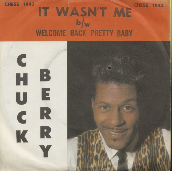 It Wasn't Me - Welcome Back Pretty Baby (7inch, 45rpm, PS)