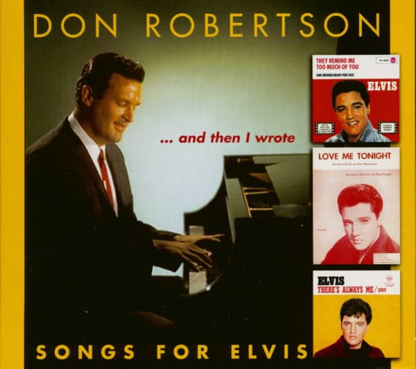 And Then I Wrote - Songs For Elvis (CD)