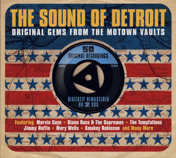 The Sound Of Detroit - Original Gems From The Motown Vaults (2-CD)