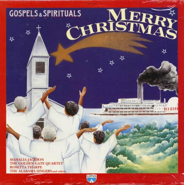 Gospel & Spirituals - Merry Christmas (LP)