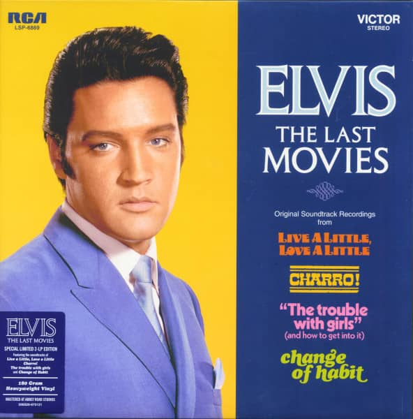Elvis - The Last Movies (2-LP, 180g Vinyl, Limited Edition)