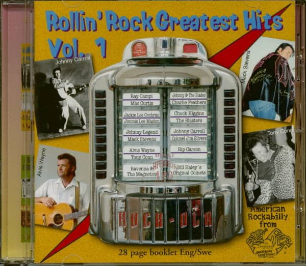 Rollin' Rock Greatest Hits Vol.1 (CD)