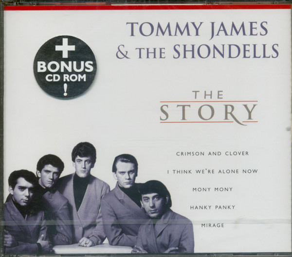 Tommy James and the Shondells - The Story - (plus CD ROM)(CD)