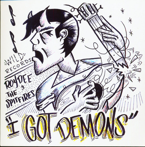 I Got Demons - I Did It (7inch, 45rpm, PS, SC)