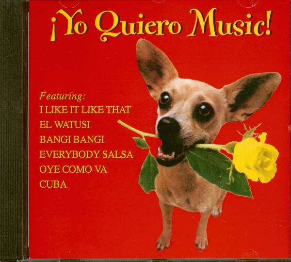 Yo Quiero Music (CD)