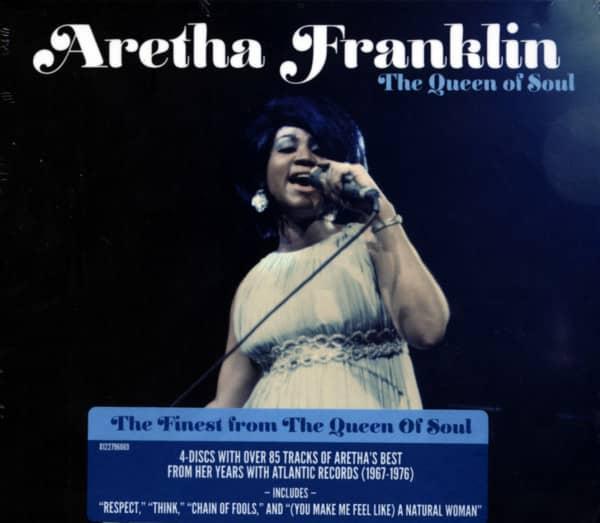 The Queen Of Soul 4-CD