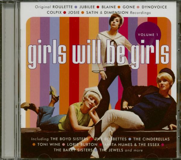 Girls Will Be Girls Vol.1 (CD)