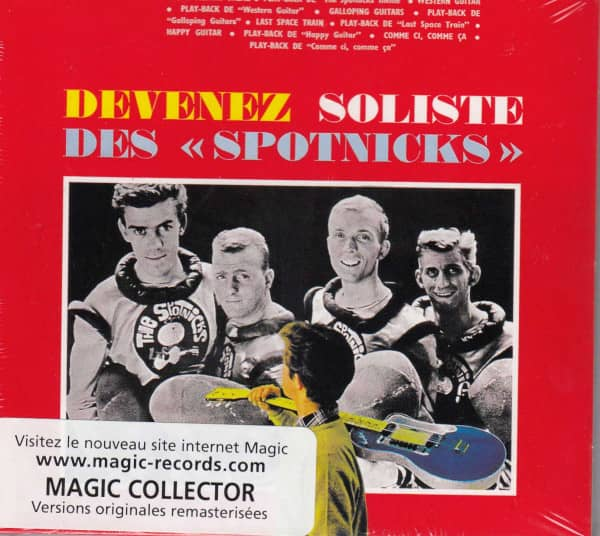 Devenez Soliste Des Spotnicks - Digipack