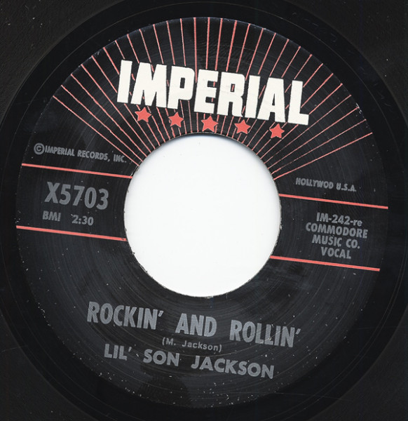 Travelin' Blues - Rockin' And Rollin' 7inch, 45rpm