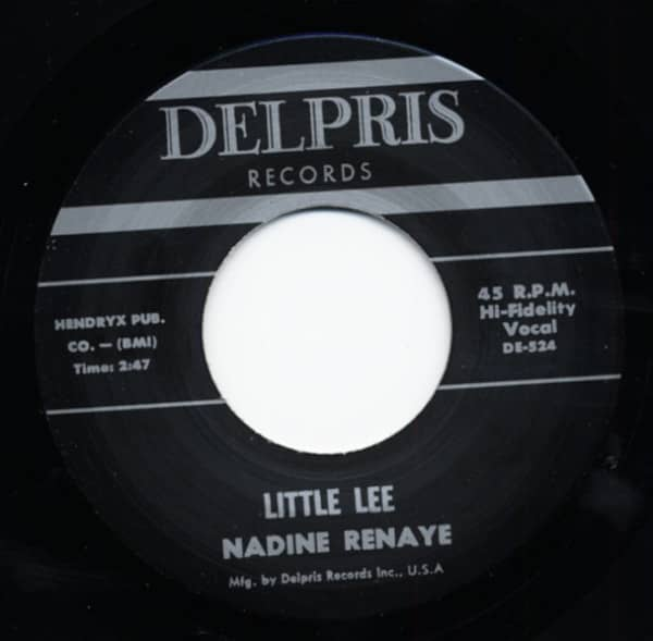Little Lee - I Like The Way You Walk 7inch, 45rpm
