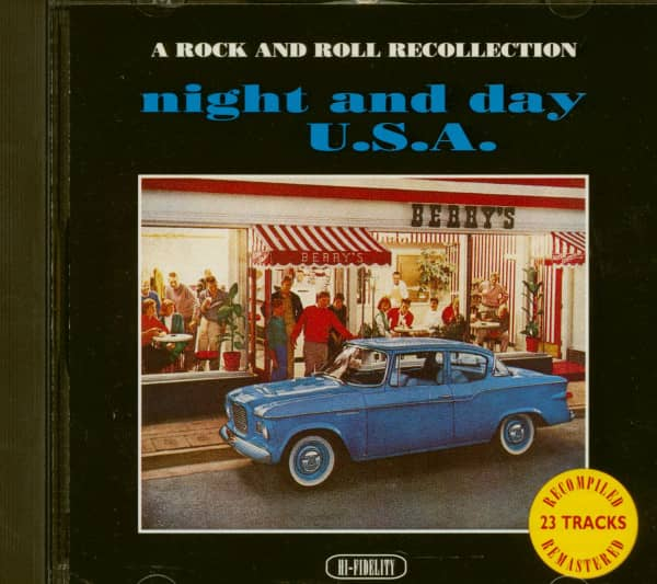 Night And Day USA (CD Album)
