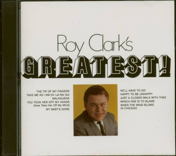 Roy Clark's Greatest (CD)