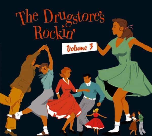 Vol.3, The Drugstore's Rockin' (CD)